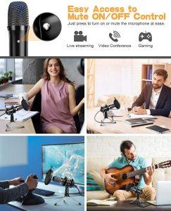 microphone a condensateur USB