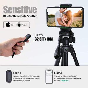 trépied smartphone 150 cm