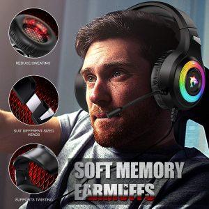 casque gamer avec micro switch
